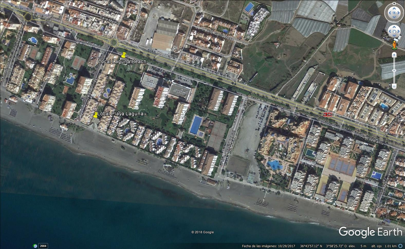 Inmejorable local de 420 m2 en Torrox Costa